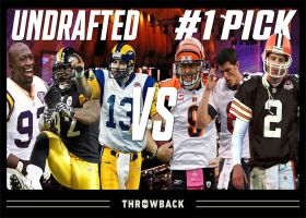 NFL Throwback: Undrafted vs. No. 1 picks