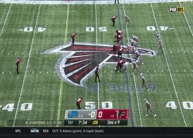 Matthew Stafford slings laser to Marvin Jones Jr. for 23 yards