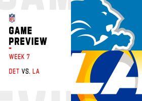 Lions vs. Rams preview | Week 7