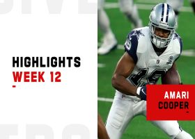 Every catch by Amari Cooper from 112-yard game | Week 12