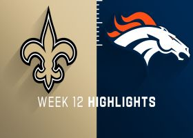 Saints vs. Broncos highlights | Week 12