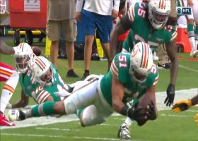 Byron Jones' peanut punch gives Dolphins crucial takeaway