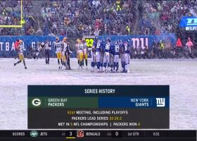 Best moments in the snow from Packers-Giants | Week 13
