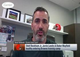 Kevin Stefanski says he's happy with OBJ's, Jarvis' offseason progress