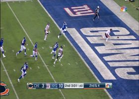 Giants score safety as Daniel chases mishandled snap into the end zone