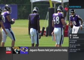 NFL Network's Steve Wyche highlights young Baltimore Ravens wide receiver who's making eye-popping plays at camp
