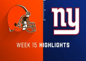 Browns vs. Giants highlights | Week 15