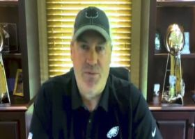 Pederson discusses getting Hurts acclimated to Eagles' offense