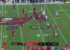 Vita Vea engulfs Matt Ryan for massive loss on sack