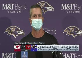 Harbaugh, Jackson reflect on clutch fourth-down conversion