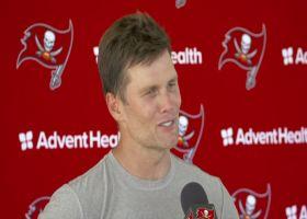 Tom Brady: 'We had a (expletive) practice' today