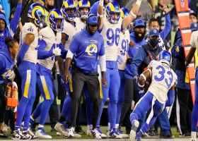 Rams nab game-sealing INT off Smith after Lockett falls down
