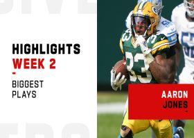 Aaron Jones' biggest plays from 3-TD game | Week 2