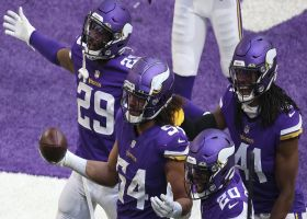 Eric Kendricks' perfect coverage turns into toe-tapping end-zone INT