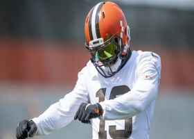 First look: Odell Beckham Jr. on the field at Browns training camp