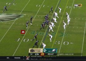 Malcolm Jenkins sniffs out former team's fourth-down call for TFL