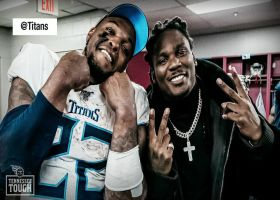 Derrick Henry, Chris Johnson become only two RBs from same franchise to rush over 2K yards