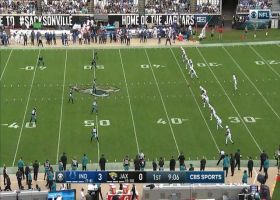 Keelan Cole reads block and speeds right for 59-yard kick return