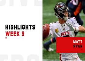 Matt Ryan's best throws from 3-TD game | Week 9
