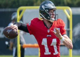 Garafolo: Carson Wentz day to day with soft-tissue injury