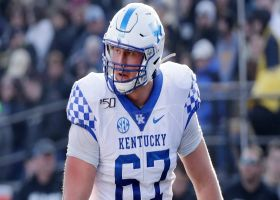 Saints select Landon Young with No. 206 pick in 2021 draft