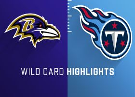 Ravens vs. Titans highlights | Super Wild Card Weekend