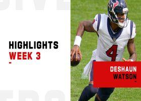 Deshaun Watson's best plays from 2-TD game | Week 3