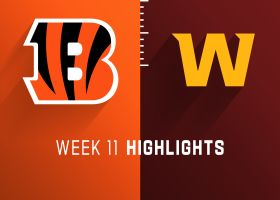 Bengals vs. Washington highlights | Week 11