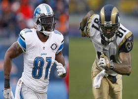 Will Calvin Johnson, Torry Holt get into '21 HOF class? Trotter, Silver weigh in