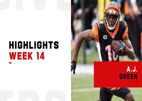 A.J. Green's best plays vs. Cowboys in Week 14