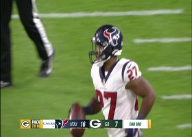 Scottie Phillips unleashes strong stiff-arm for 25-yard dash