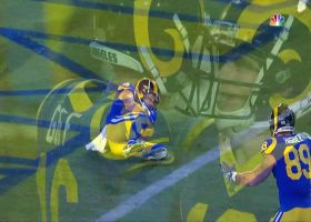 Jared Goff hits Cooper Kupp for third-down TD late in first half