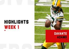 Every Davante Adams catch from 156-yard game | Week 1