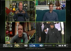 Best of Drew Brees with Manning bros on 'MNF' | Week 7