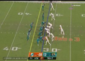 FitzMagic catches his own pass after Chaisson swats it out of the sky