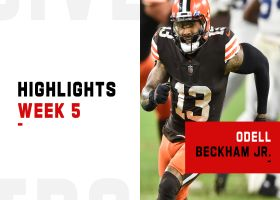 Biggest plays by Odell Beckham Jr. and Jarvis Landry | Week 5