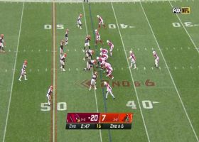 Murray has all day to scan field for 33-yard strike to Hopkins