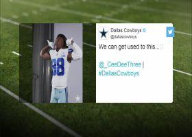 First look: CeeDee Lamb in No. 88 Cowboys uniform