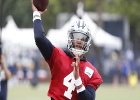 First look: Dak Prescott runs drills at Cowboys training camp