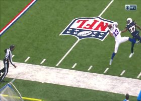 Gabriel Davis leaps for amazing 44-yard grab on free play