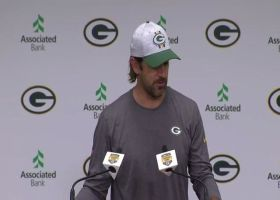Aaron Rodgers explains factors that led to offseason tension with Packers