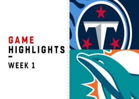 Titans vs. Dolphins highlights   Week 1
