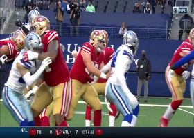 DeMarcus Lawrence extends hand for impressive strip-sack on Mullens