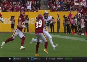 Adam Trautman gets free for 32-yard reception from Winston