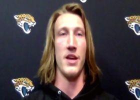 Trevor Lawrence explains first impressions of having Tebow on roster