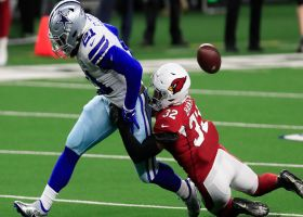 Cards recover fumble after Zeke coughs it up near midfield