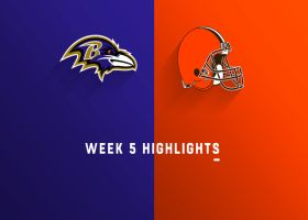 Ravens vs. Browns highlights | Week 5