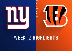 Giants vs. Bengals highlights | Week 12