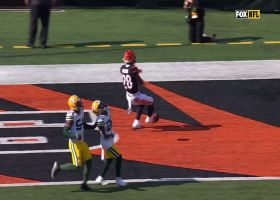 Mixon impresses broadcasters with nifty footwork for TD