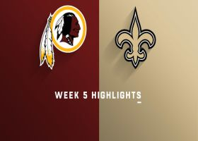 Redskins vs. Saints highlights | Week 5